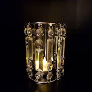 Crystal Prism Tealight Or Votive Candle Holder for Sale in Annandale, VA