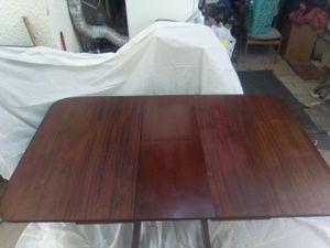 BRANDT MAHOGANY ANTIQUE TABLE for Sale in Tucson, AZ