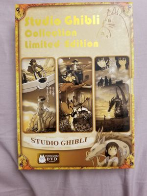 Studio Ghibli Collection Limited Edition for Sale in Fullerton, CA