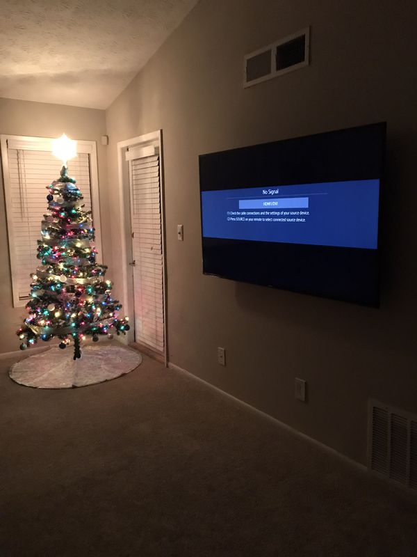 Holiday Season TV Mounting Special
