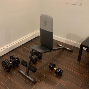 Gold's Gym Adjustable Bench for Sale in Arlington, VA