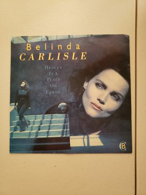 Belinda Carlisle Heaven is a Place on Earth vinyl record for Sale in Toms River, NJ