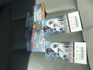 Longhorn tickets for Sale in Beaumont, TX
