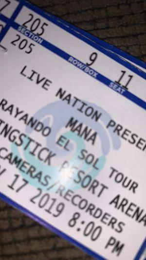 tickets para mana for Sale in Phoenix, AZ