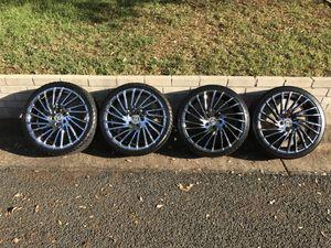 """20"""" Lexani Wraith - Chrome Rims - 5x120 for Sale in Austin, TX"""