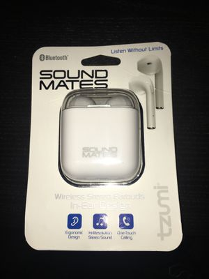 Tzumi Sound Mates Wireless EarBuds for Sale in Houston, TX