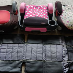 Car Booster Seats And Seat Cover for Sale in Lewisville, TX