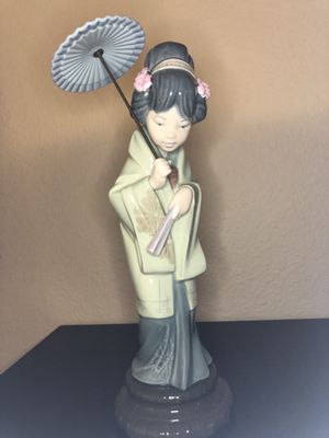 Lladro #4988 Japanese with Parasol for Sale in San Diego, CA