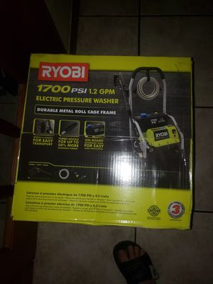 1700 psi ryobi pressure washer for Sale in Miramar, FL