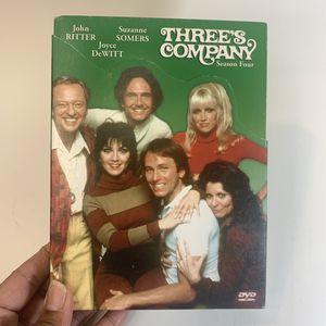 📀📺 Three's Company Season 4 for Sale in Fresno, CA