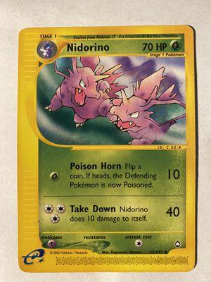 Nidorino 55/147 for Sale in Alexandria, VA