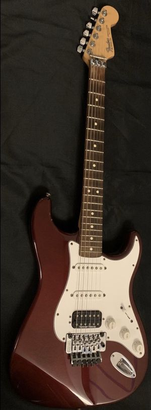 2000 Fender Floyd Rose Stratocaster MIM Wine Red Electric Guitar for Sale in West Covina, CA