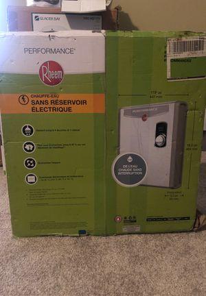 Rheem Tankless Water Heater Electric for Sale in Atlanta, GA