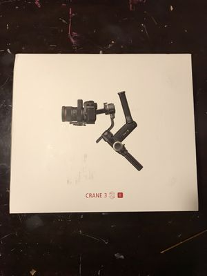 Zhiyun Crane 3s camera gimbal for Sale in Portland, OR
