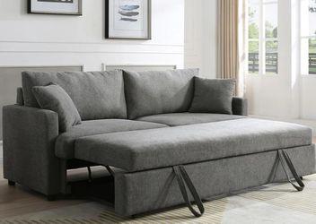 Rebecca Gray Fabric Sleeper Sofa 💕💕💕 for Sale in Houston,  TX