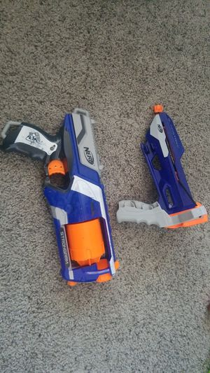 Nerf Guns Strongarm and Slingstrike for Sale in Las Vegas, NV