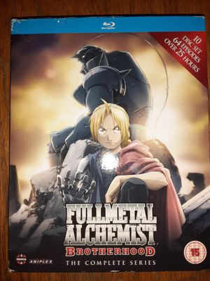 Fullmetal Alchemist Brotherhood the complete series 2 Seasons 64 episodes over 25 hours for Sale in Columbus, OH