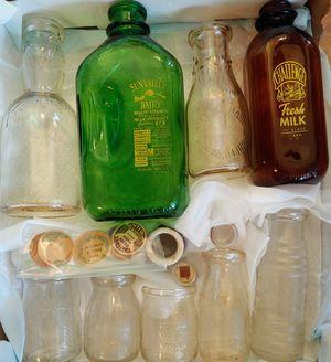 Antique Milk Bottle Collection for Sale in Sun City Center, FL