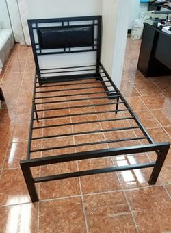 [F9412] METAL BEDFRAME W/ HEADBOARD [TWIN $179 / FULL $199] [ONLY $50 DOWN AND 90 DAYS TO PAY SAME AS CASH] for Sale in Irving,  TX