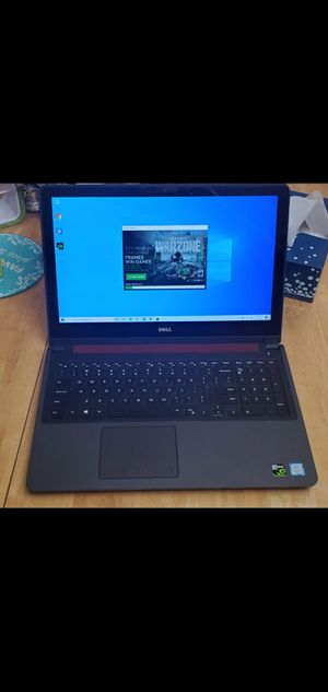 Dell inspiron 15 GAMING TOUCHSCREEN LAPTOP 4K INTEL i7-6700Q , 1tb hd, NVIDIA GEFORCE GTX960M GAMING GRAPHIC CARD, 4K RESOLUTION WIN-10 for Sale in Los Angeles, CA