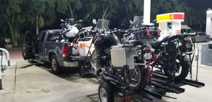 2 Motocicle trailer/ 1 motorcycle or 4x4 . for Sale in Hollywood, FL