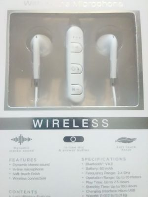Wireless Bluetooth Headphones White for Sale in Pittsburgh, PA