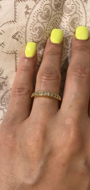 18K Yellow Gold plated Ring— Code SUP401 for Sale in Washington, DC