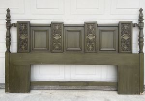 Retro Vintage Headboard and matching Night Stands for Sale in Chino Hills, CA