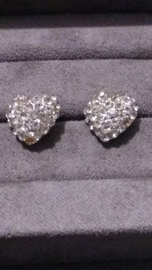 Swavorski Crystal Heart Earrings for Sale in Fort Worth, TX