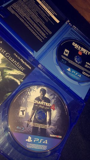 CALL OF DUTY 4 & UNCHARTED 4 for Sale in Stockton, CA