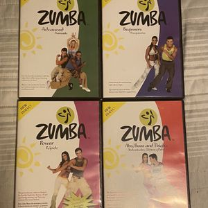 Zumba Workout DVDs for Sale in Gambrills, MD