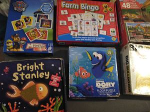Puzzles and board games for Sale in Houston, TX