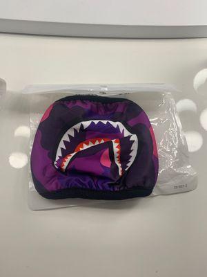 Purple camo Bape mask for Sale in Anaheim, CA