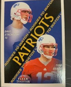 Tom Brady Rookie Card -Mint!!! for Sale in Normandy Park,  WA