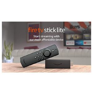 Fire TV Stick Lite with Alexa Voice Remote Lite (no TV controls) | HD streaming device | 2020 release for Sale in Fontana, CA