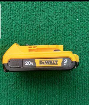 Dewalt 20 volt 2 amp battery for Sale in La Puente, CA