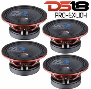 "Speakers DS18 Pro-EXL104 4000 Max 4-ohm 10"" for Sale in Medford, MA"