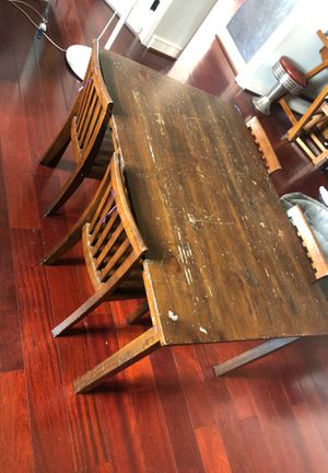 Pottery Barn Kids Table with 4 chairs for Sale in Del Mar, CA