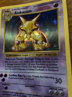 Pokémon Cards-Alakazam for Sale in Fall City, WA