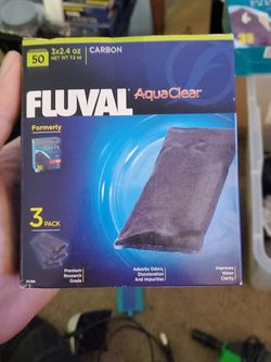 Aquaclear 50 Activated Carbon Inserts for Sale in Tacoma,  WA