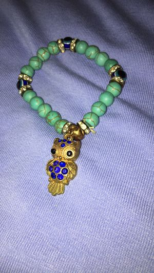 Turquoise owl bracelet for Sale in El Paso, TX
