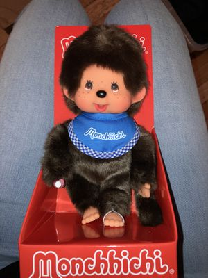 """MONCHHICHI 7.5"""" Collectible Blue Bib for Sale in Scarsdale, NY"""