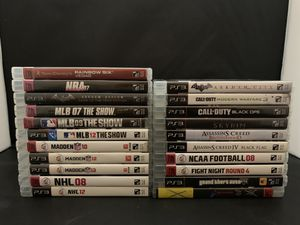 PS3 Games for Sale in Anderson, SC