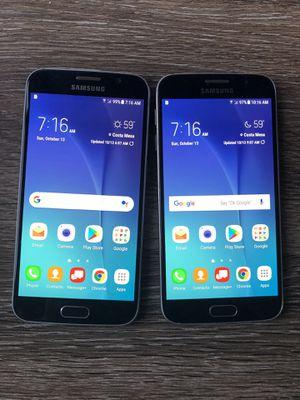 2~ Verizon Samsung galaxy S6~ Like new! for Sale in Costa Mesa, CA