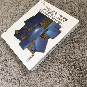 Analog Signal Processing With Laplace Transform And Active Filter Design for Sale in Milpitas, CA