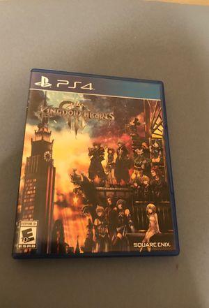 Kingdom Hearts 3 for PS4 for Sale in Alexandria, VA