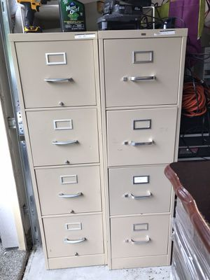 Filing Cabinets - Two for Sale in Redmond, WA