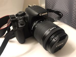 Canon EOS Rebel T5i DSLR 18mm-55mm for Sale in Orland Park, IL