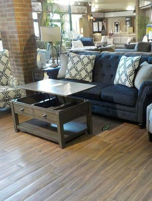 $39 Down  🍃🍂 BEST DEAL LaVernia Navy Living Room Set 281 for Sale in Jessup, MD