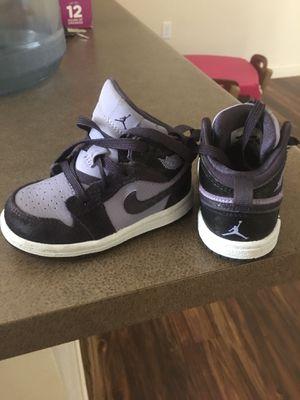 Nike Air Jordan's (Purple) High Tops.. Size 5C for Sale in Reedley, CA
